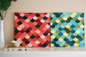 top 10 diy simple wall art ideas for