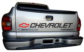 Tailgate Chevrolet Decal Window Vinyl Graphics 1500 2500 Chevy Etsy