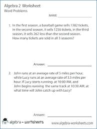 simultaneous equations worksheet with
