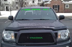 Front Windshield Sticker Ideas Tacoma World