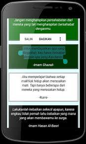 kata kata seorang muslim sejati for android apk