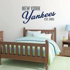 New York Yankees Baseball Vinyl Vinyl Decor Wall Decal Customvinyldecor Com