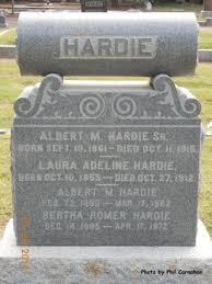 Laura Adeline Johnson Hardie (1855-1912) - Find A Grave Memorial