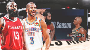 Chris Paul on viral photo with James Harden