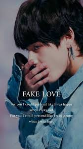 v bts fake love bts songs quotes on we heart it