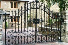 Wrought Iron Gates Driveway Gates Iron Railings Side Gates Design Estate Gates Wrought Iron Driveway Gates Gate Design
