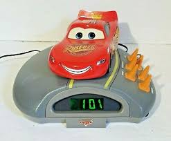 Kids Boys Bedroom Projector Alarm Clock Radio Disney Cars For Sale Online Ebay