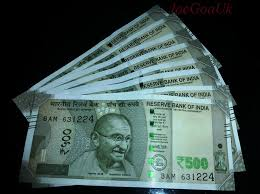 New Rs.500 notes | Few came to Goa around 30th Nov and again… | Flickr