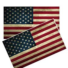 Distressed American Flag Decals Brotherhood Products