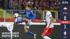 Polonia 0-1 Italia - GOL Y RESUMEN - Liga A - Grupo 3 - UEFA Nations League  - YouTube