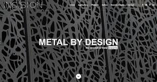 decorative metal products for