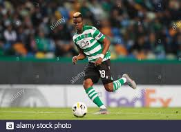 Lisbon, Portugal. 28th Nov, 2019. Idrissa Doumbia (SportingCP)  Football/Soccer : UEFA Europa League group stage Matchday
