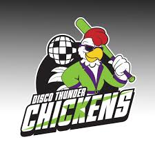 Disco Thunder Chickens Window Decal Design It Apparel