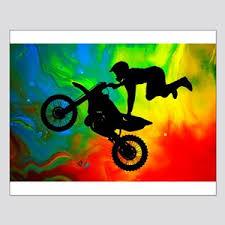 Dirt Bike Ktm Wall Art Cafepress