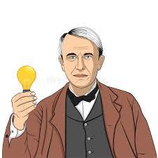 Thomas Edison Stock Illustrations – 68 Thomas Edison Stock Illustrations,  Vectors & Clipart - Dreamstime