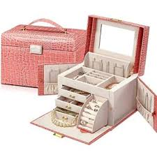 s r exclusive mirrored jewellery box