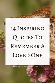remembrance of a loved one quotes and poems on death dying