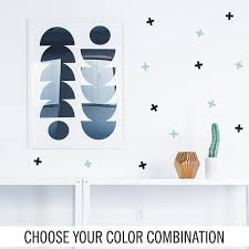 Plus Sign Colorful Wall Decal Swiss Cross Wall Decal Choose Your Color Combination Swiss Cross Stickers Plus Sign Plus Sign Stickers Wall Colors Wall Decals Wall Crosses