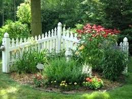 small garden fence and gate