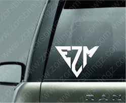Triangle 2 Monogram Decal 2 4 Zor S Blingz More