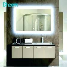 led bathroom mirror likable lighting