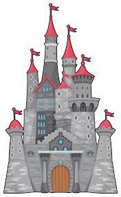 Medieval Fantasy Castle Wall Decal Wallmonkeys Com