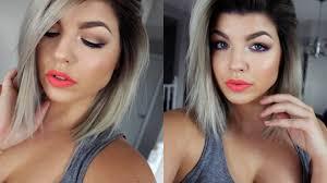 pop of color spring makeup tutorial