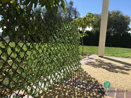 Buy Size Changable 50 50 Faux Expandable Stretchable Ivy Privacy Fence Screenwith Red Flower Artificial Hedge Fencing Or Wall Outdoor Decor In Cheap Price On Alibaba Com