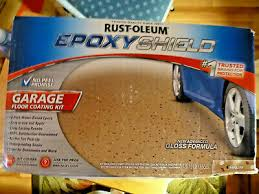 floor coating kit tan gloss 1 car