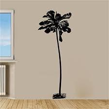 Amazon Com Tall Skinny Tropical Palm Tree Vinyl Wall Decal Sticker Graphic Handmade