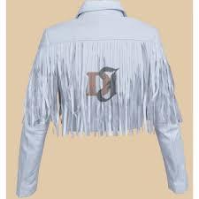 sloane peterson white leather jacket