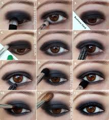 makeup ideas dark brown eyes 2020
