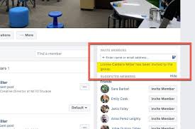 create a private facebook group