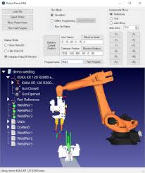 robot hmi for automation projects