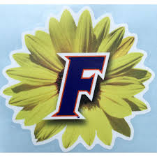 Gators Florida 4 Sunflower Vinyl Decal Alumni Hall