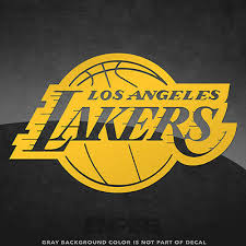 Los Angeles Lakers Nba Vinyl Decal Sticker 4 And Larger 30 Color Options 4 49 Picclick
