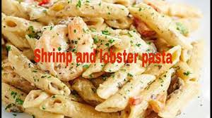 Shrimp and Lobster pasta - YouTube
