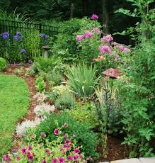 Landscaping Along A Fence Line