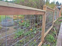 Wood Landarc Landscaping Design Hog Wire Fence Wire Fence Panels Fence Design