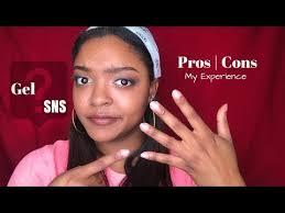 sns gel pros cons mila b you