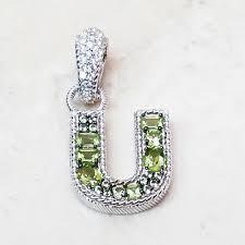 judith ripka sterling silver peridot
