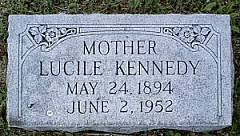 Lucile Smith Kennedy (1894-1952) - Find A Grave Memorial