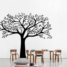 Wall And Room Family Tree Vinyl Decal Giant Wall Sticker Free Shipping