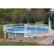 Sentry Safety Pool Fence Premium Guard Above Ground Pool Fence Add On Kit B 3 Spans Agpf Kit B The Home Depot