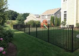 No Dig Aluminum Fence 1000 In 2020 Aluminum Fence Fence Panels Fence Design
