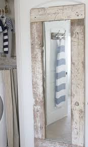 diy mirror barn wood mirror