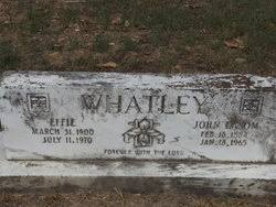 Effie Phillips Whatley (1900-1970) - Find A Grave Memorial