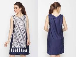 Biasanya gamis seperti ini digunakam untuk menghadiri acara formal seperti acara undangan pernikahan atau acara. 10 Model Dress Batik Terbaru Untuk Orang Gemuk Tahun 2020