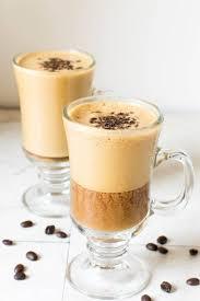 vegan iced cappuccino v gf df