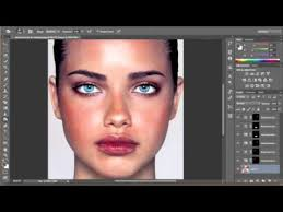 how to apply makeup in photo cs6
